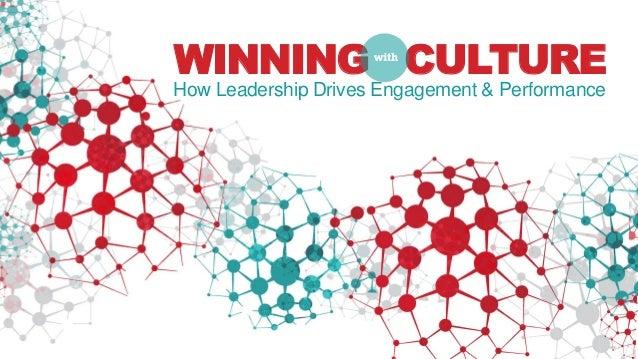WINNING CULTUREHow Leadership Drives Engagement & Performance