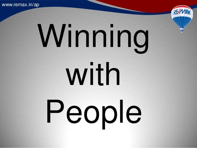 www.remax.in/ap Winning with People