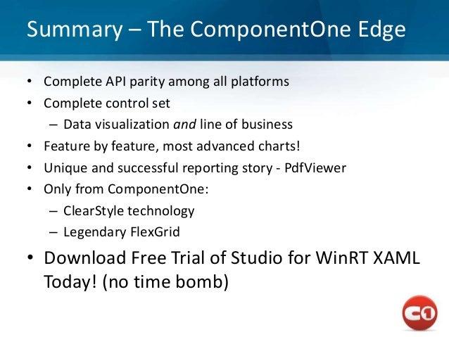 WinRT webcast part 1, overview, tile, collection, calendar