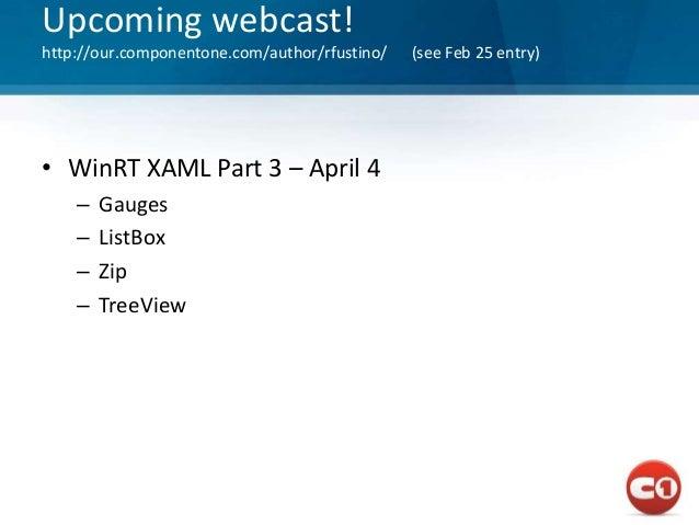 Win rt webcast part 2