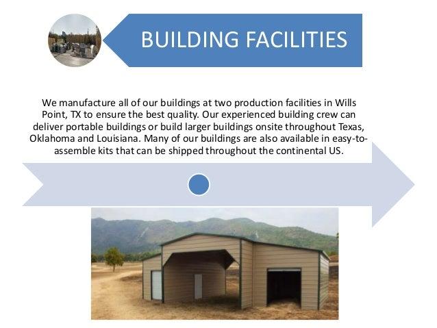 Pole Barn Buildings in Texas