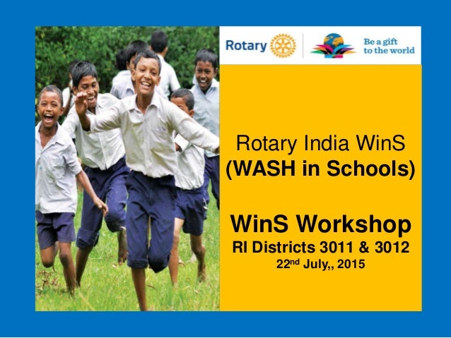 Rotary India WASH in Schools Program