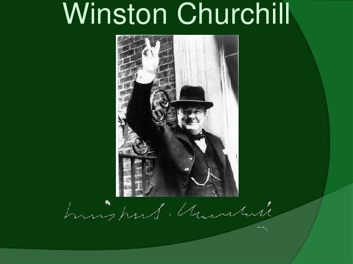 Winston Churchill<br />