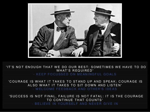 12 Winston Churchill Quotations Encapsulating the Mindset of Success Slide 3