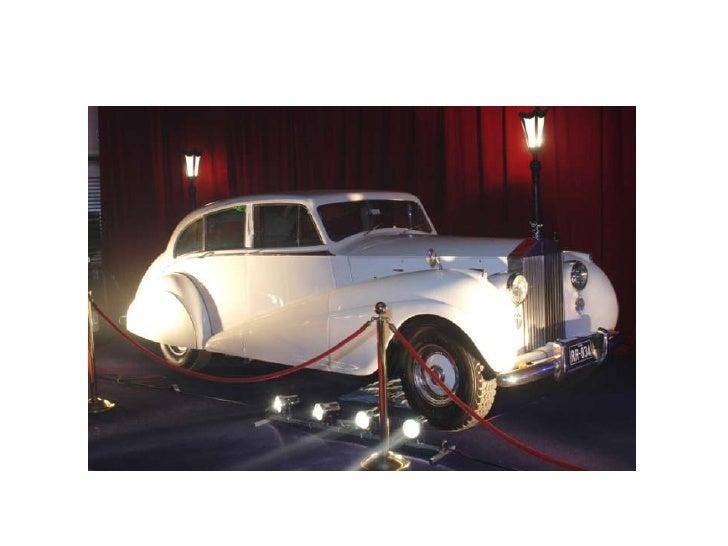 Classic Ivory Rolls-Royce<br />