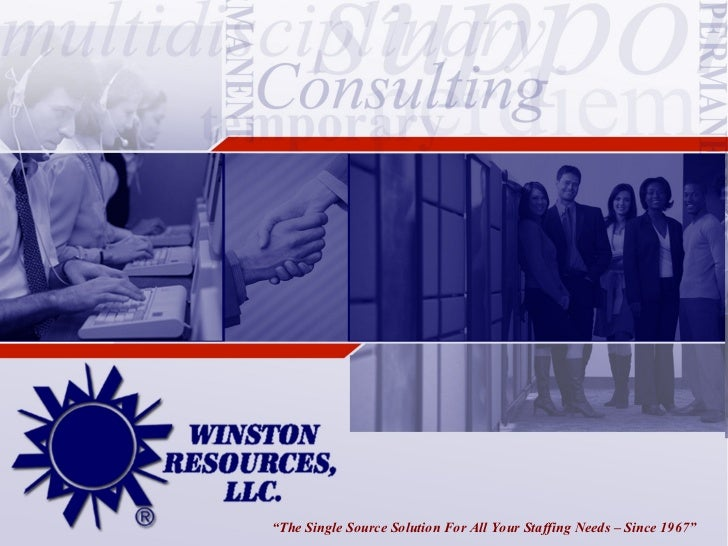 the single source solution for all your staffing needs since 1967