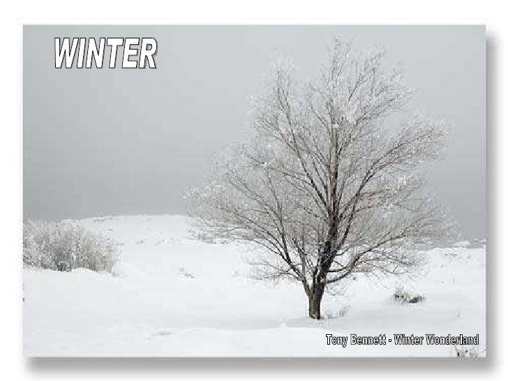 WINTER Tony Bennett - Winter Wonderland