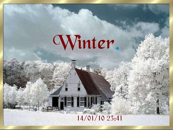 Winter . 14/01/10 23:41