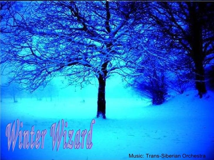 Winter Wizard Music: Trans-Siberian Orchestra
