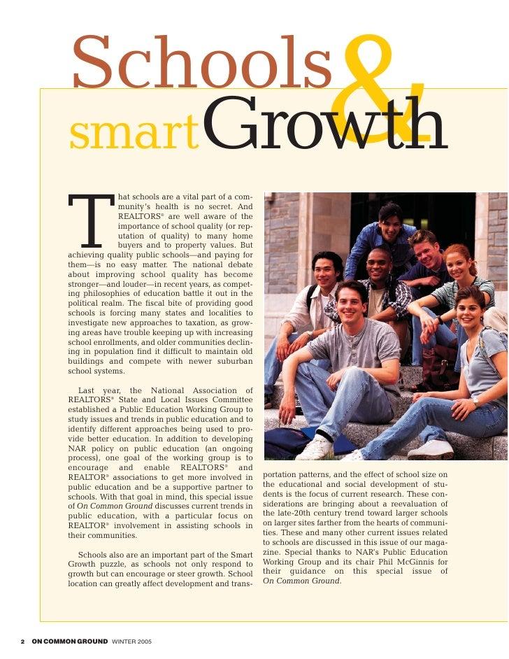 Schools             smartGrowth                                                            &             T                ...