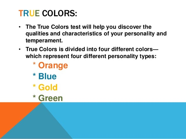 color personality test blue gold green orange pdf
