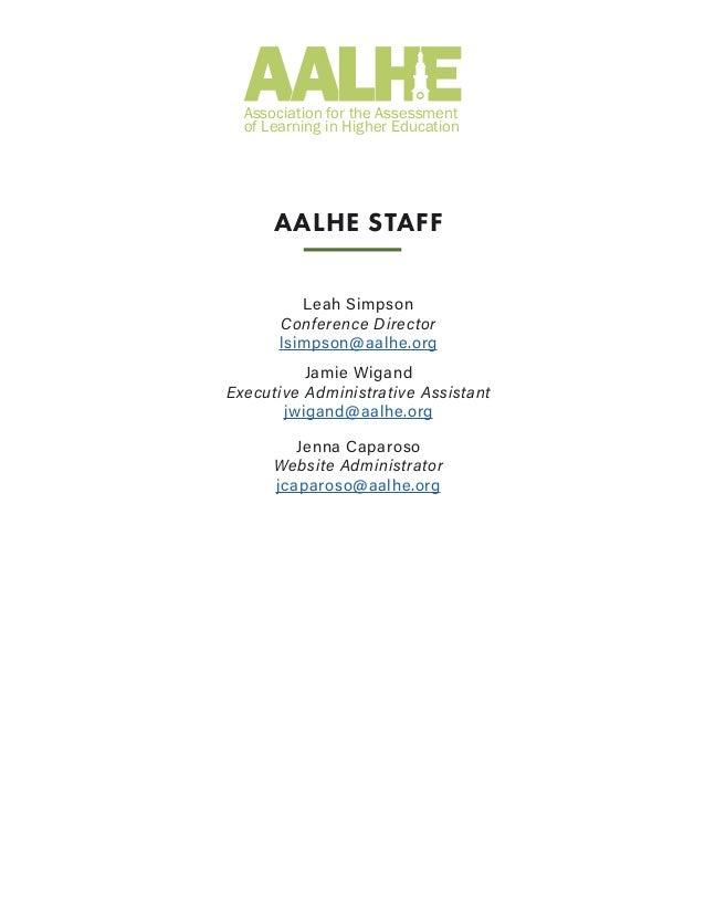 AALHE Newsletter