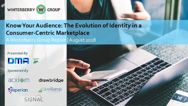 Presented By Sponsored By KnowYour Audience:The Evolution of Identity in a Consumer-Centric Marketplace AWinterberry Group...