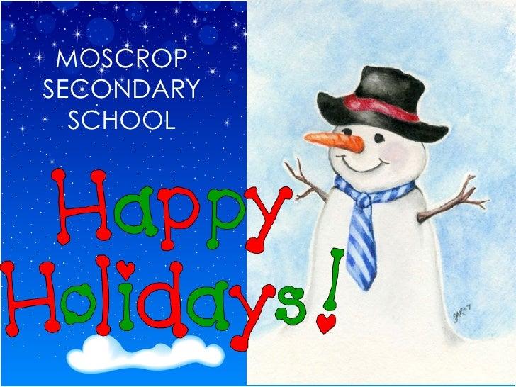 MOSCROP SECONDARY SCHOOL