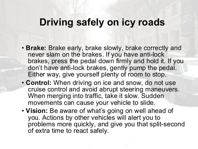 Winter Driving Safety By Mining Quiz