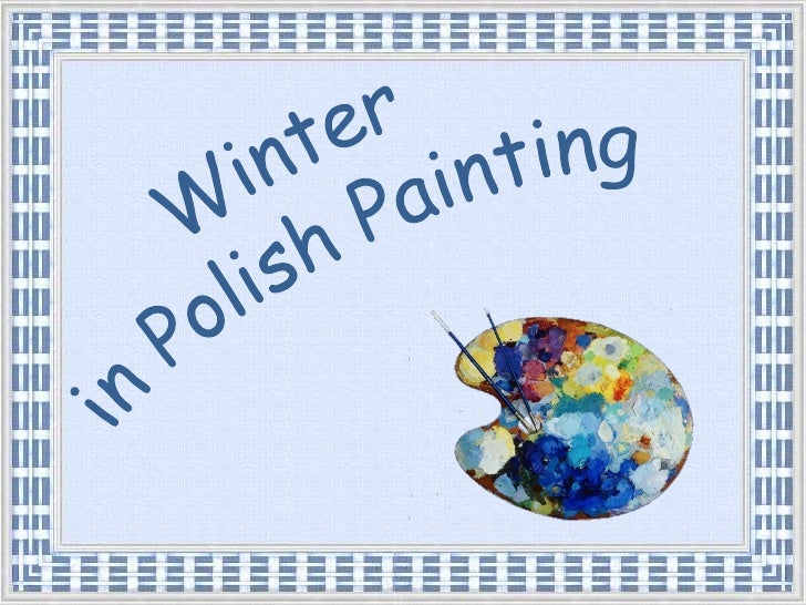 Winter <br />in Polish Painting<br />