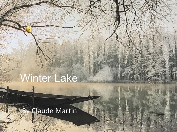 Winter Lake By Claude Martin