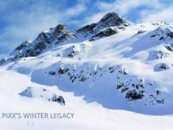 PIXX'S WINTER LEGACY      1.2