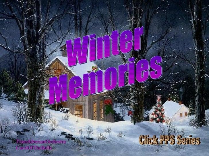 TransSiberianOrchestra CarolOfTheBells Winter  Memories Click PPS Series