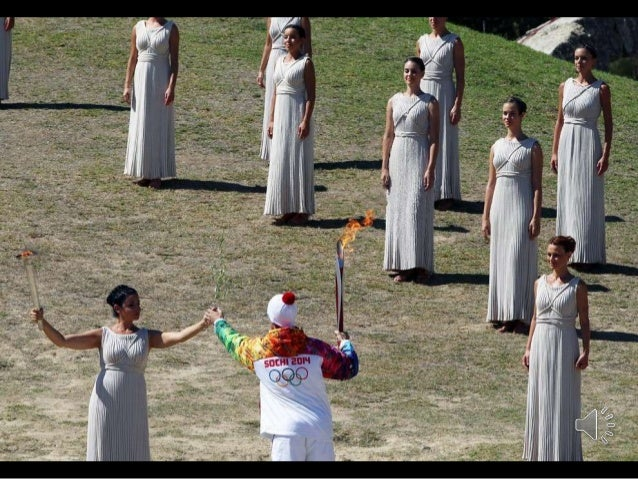 Earlier last month in Greece, the Olympic flame began its ceremonial journey to the site of the Winter Games in Sochi, Rus...