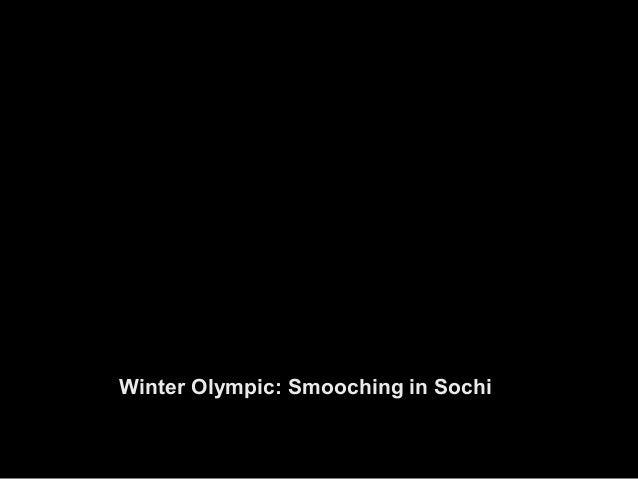 Winter Olympic: Smooching in Sochi Slide 3