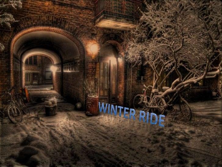 Winter ride<br />