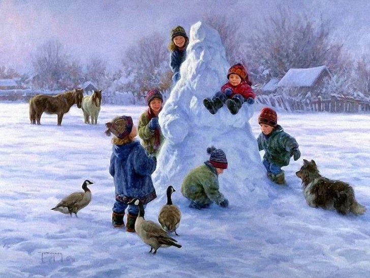 Winter Scenes (Robert Duncan)
