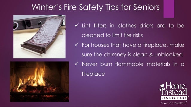Winter S Fire Safety Tips For Seniors