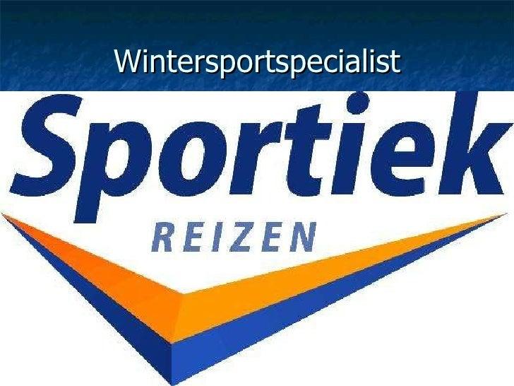Wintersportspecialist
