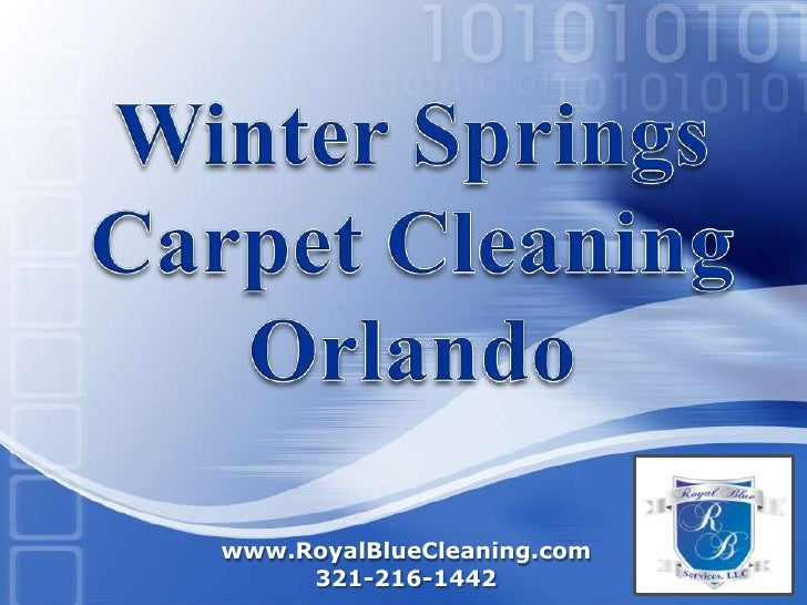 Winter SpringsCarpet CleaningOrlando<br />www.RoyalBlueCleaning.com321-216-1442 <br />