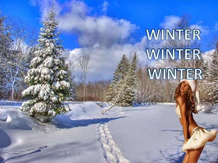 Winter winter winter Slide 1