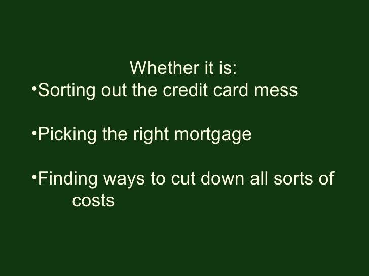 Make Your Money Go Further Slide 2