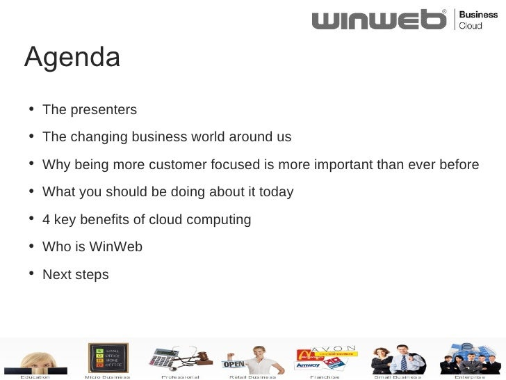 WinWeb Cloud Computing & Your Customers Slide 2
