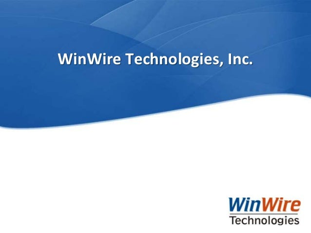 WinWire Technologies, Inc.