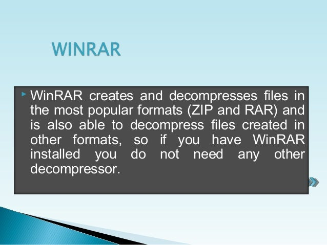 do i need winrar