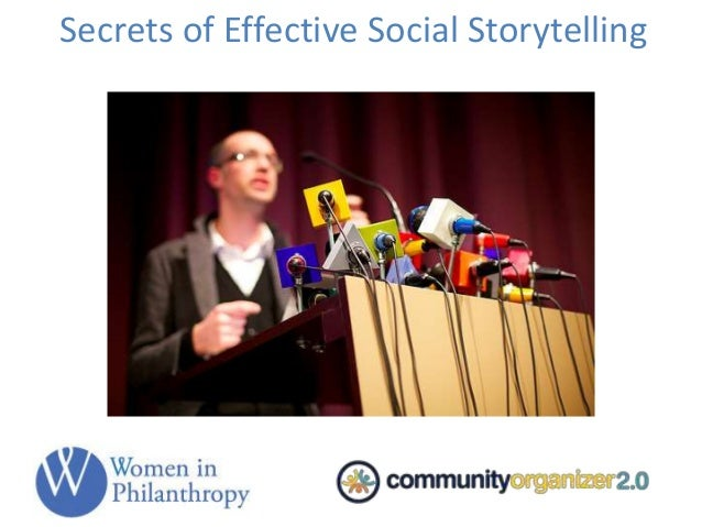 Secrets of Effective Social Storytelling