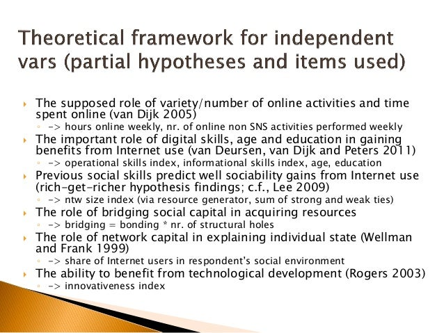 Are nonusers socially disadvantaged?