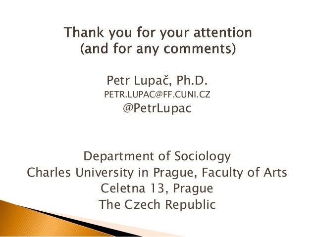 Presentation at Social Media & Society 2014 conference, Toronto