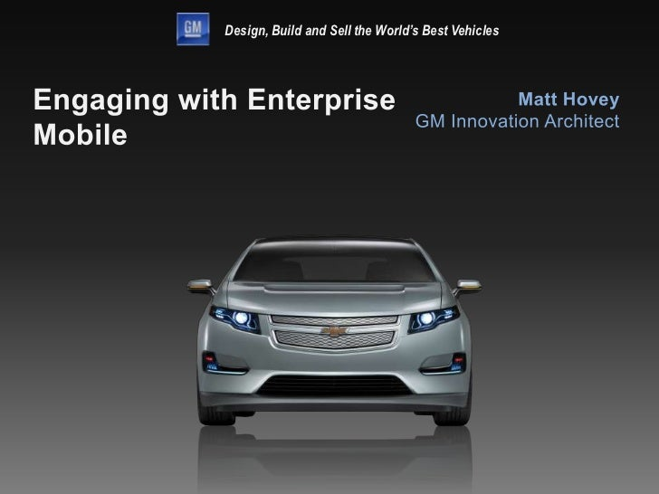 Design, Build and Sell the World's Best Vehicles