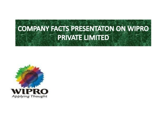 pestle analysis of wipro Some of the political factors affecting the operations of wipro include the following the first one is liberalisation.