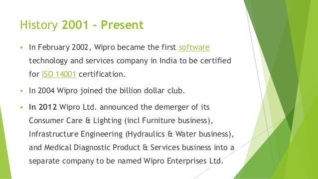 Wipro Western India Products Ltd A Presentation
