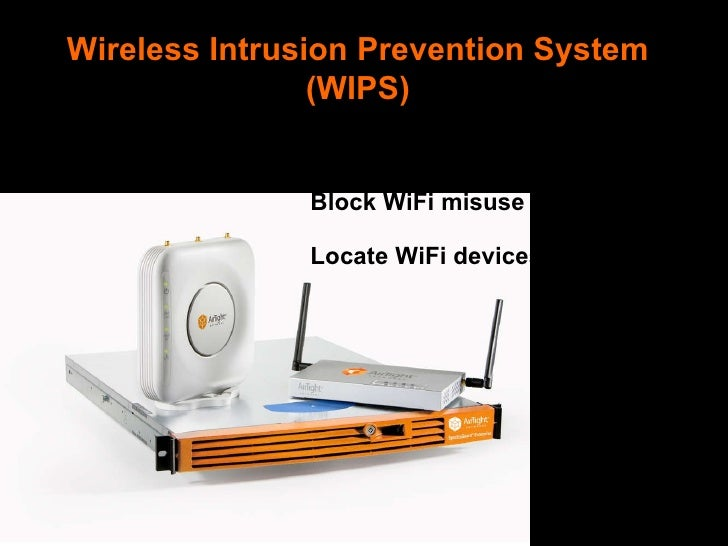 Wireless intrusion prevention system: Wikis