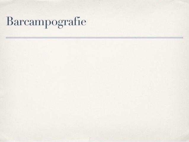 Barcampografie