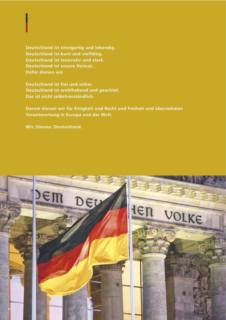 Deutschland ist einzigartig und lebendig.    Deutschland ist bunt und vielfältig.    Deutschland ist innovativ und stark. ...
