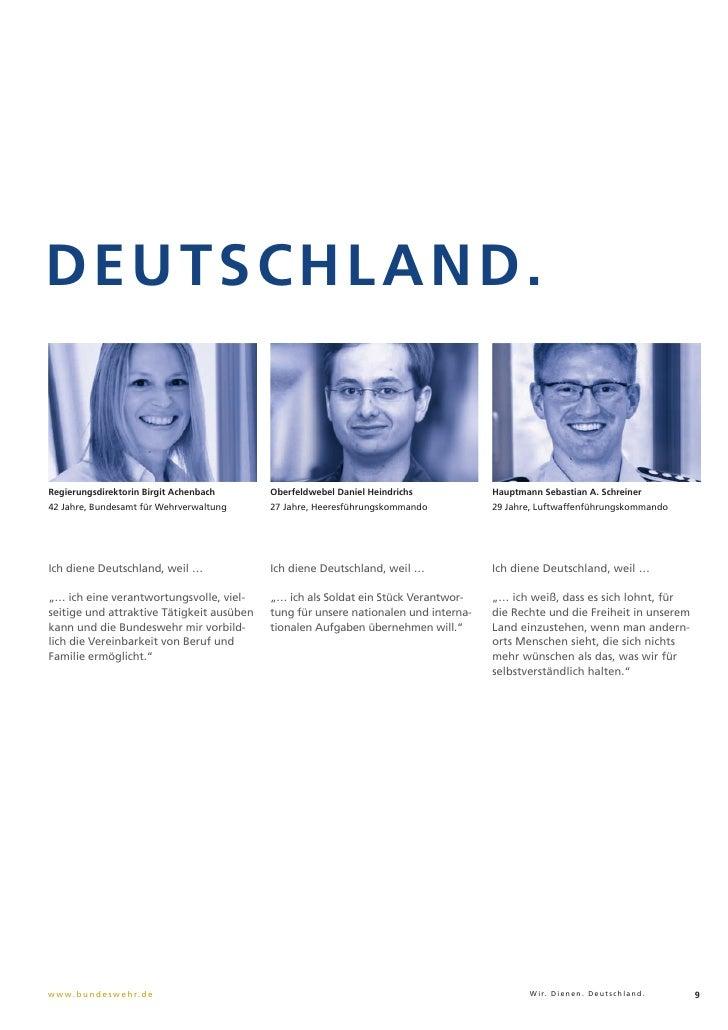 DEUTSCHLAND.Regierungsdirektorin Birgit Achenbach      Oberfeldwebel Daniel Heindrichs           Hauptmann Sebastian A. Sc...