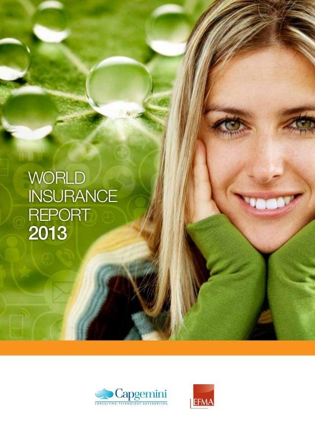 WORLD INSURANCE REPORT 2013