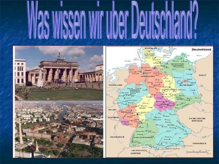 Was wissen wir uber Deutschland?