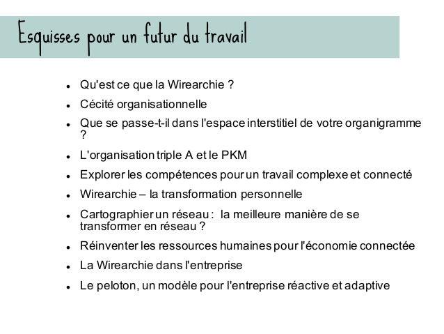Cécité organisationnelle Thierry de Baillon