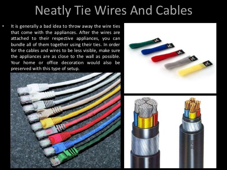 Organizing Wires & Cables in Your Home and Offices