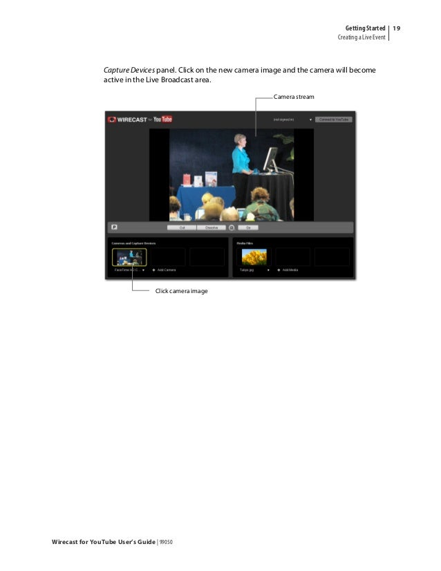 Wirecast for-you tube-user-guide-windows